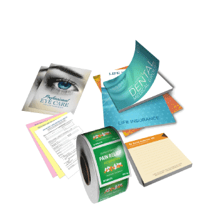 Selection of printing products miami
