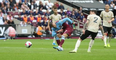 Happy Hammers hit United with the old one-two