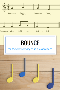 Name games for the first day in elementary music. Includes songs such as Hickety Tickety Bumblebee, Telephone Song, and Bounce High.
