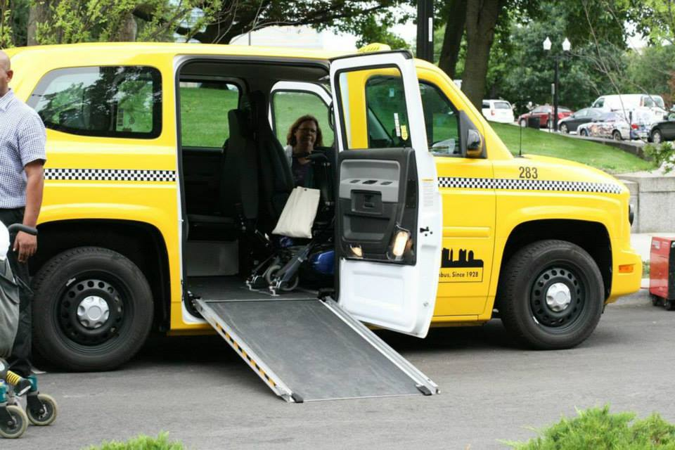 Paratransit Yellow Cabs Yellow Cab Of Columbus