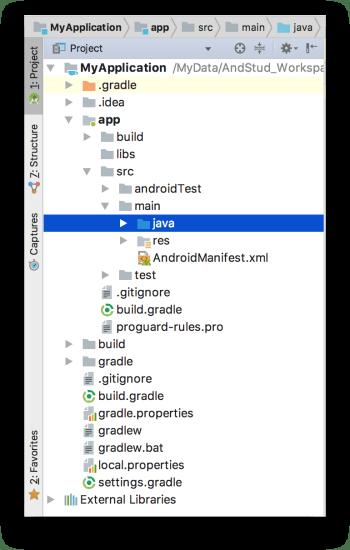 Android Studio 3.0 - Thư mục mặc định chứa file Kotlin