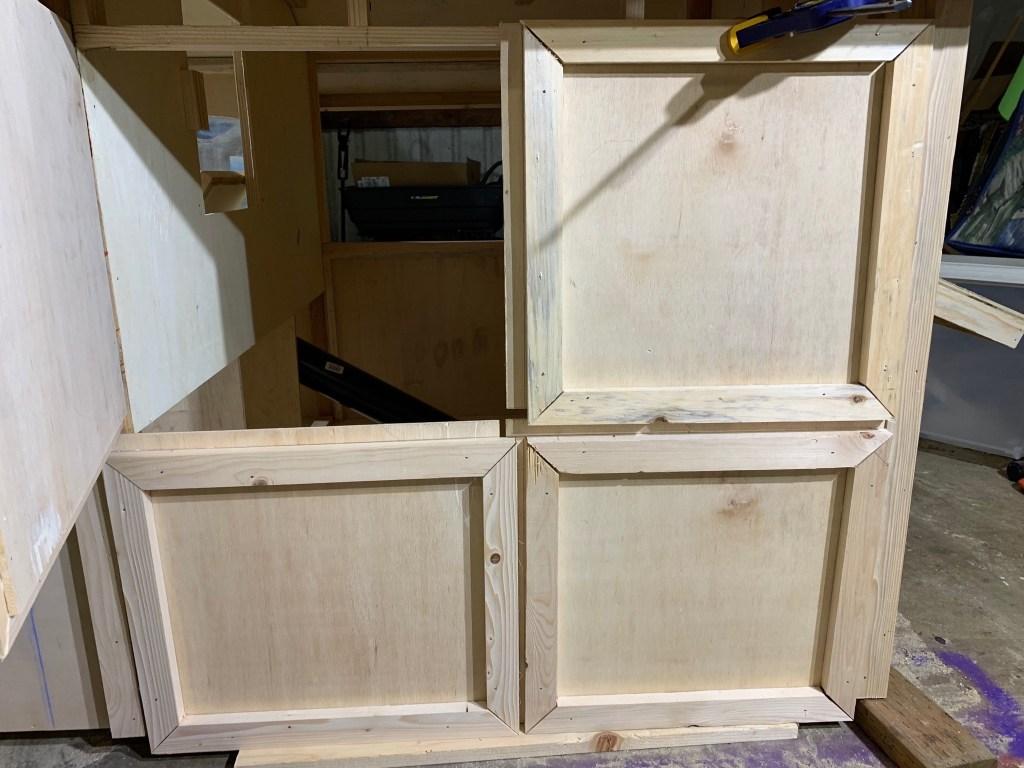 Maintenance doors