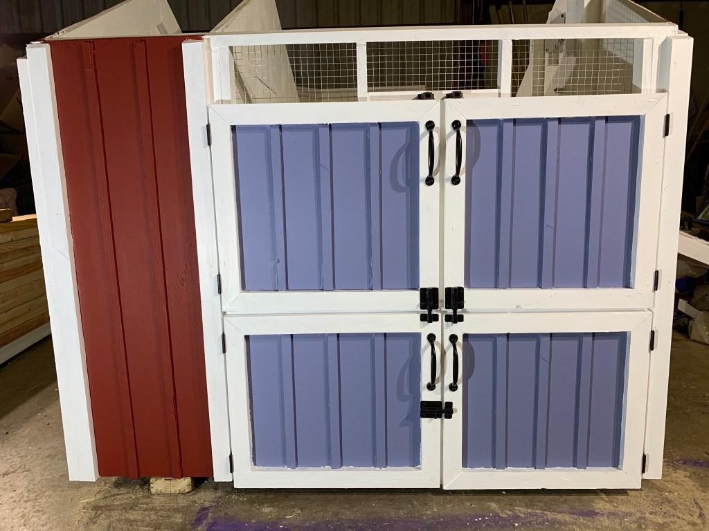 Maintenance doors closed