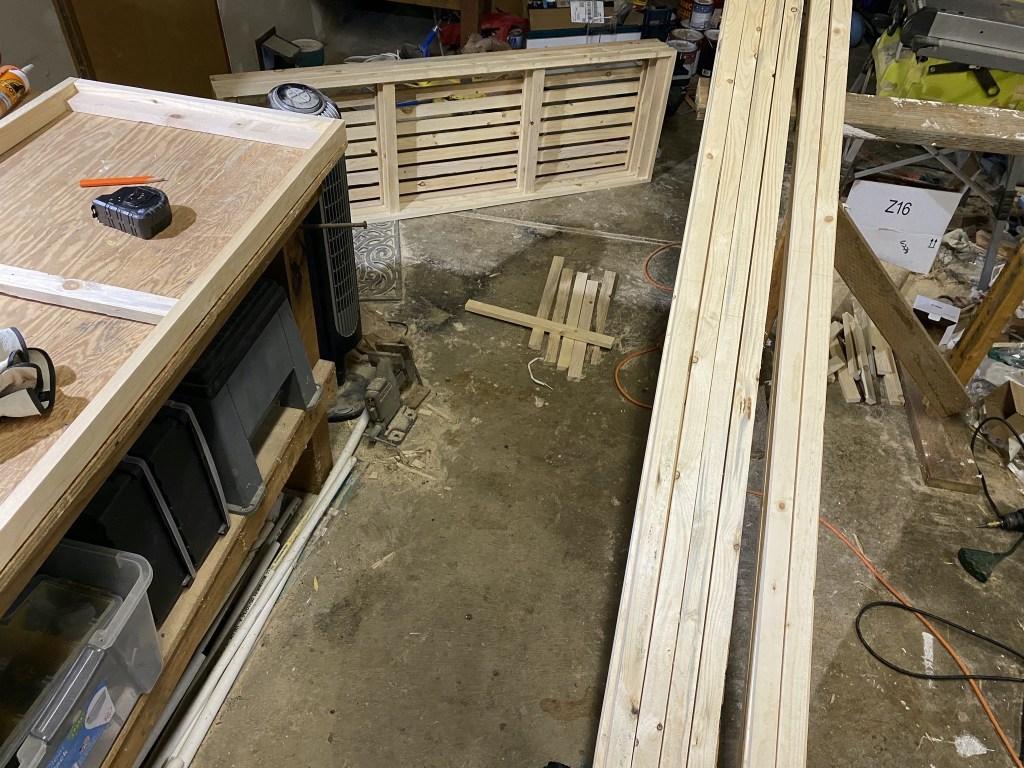 Making more shelves