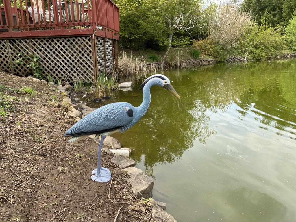 Fake heron