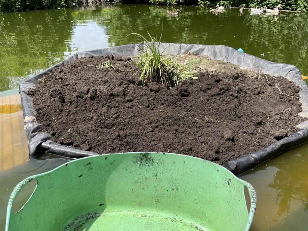New dirt on island