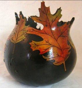 Maple Leaves Bowl