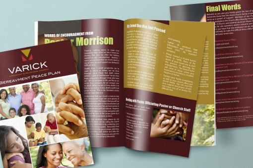 Varick Memorial AME Zion Church Bereavement Peace Plan Booklet