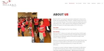 About Us Screenshot