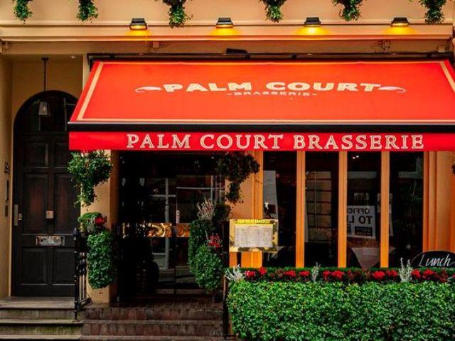 palm court brasserie event