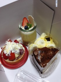 The strawberry tart was smashed lol