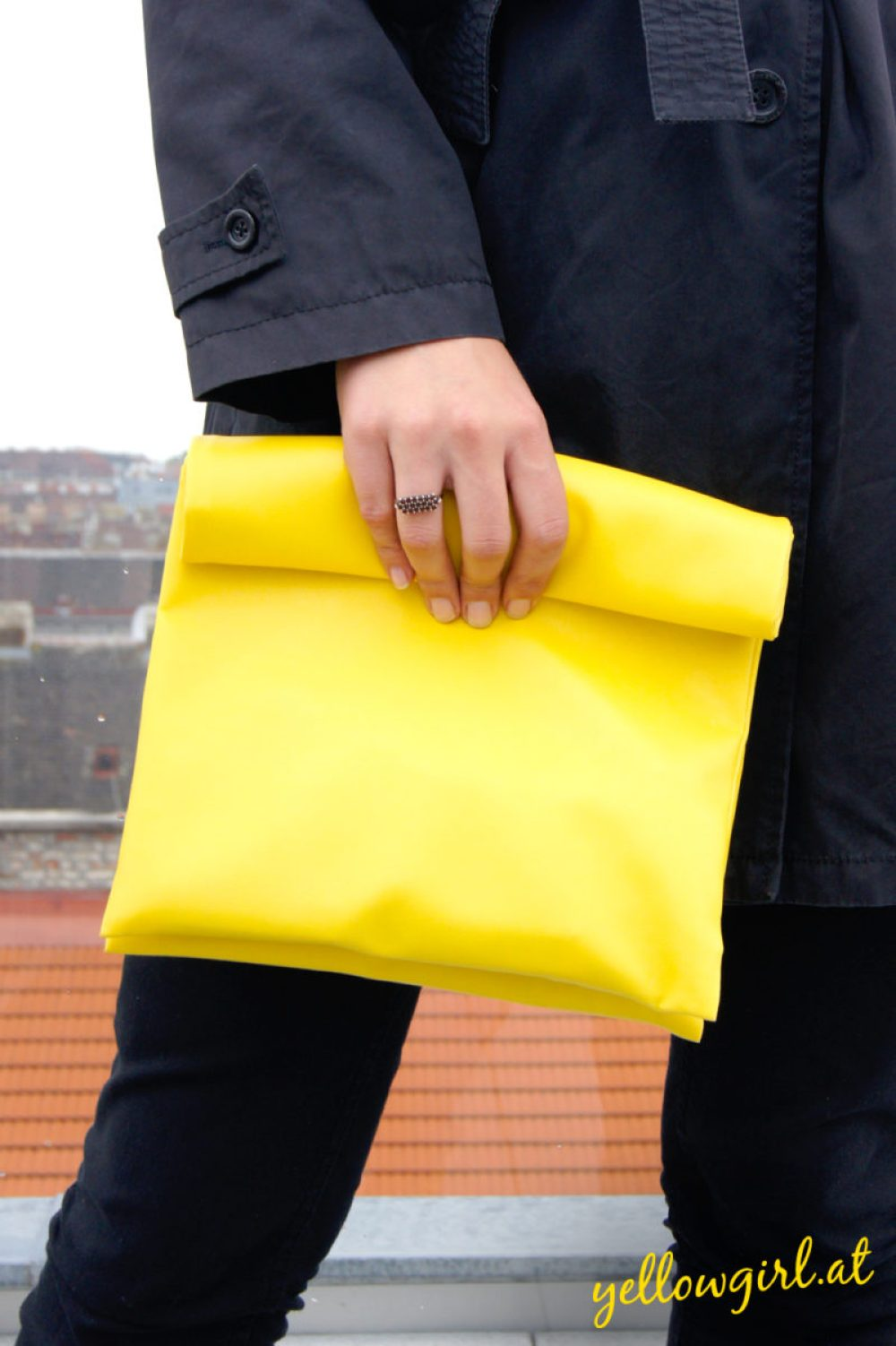 www.yellowgirl.at DIY Paperbag