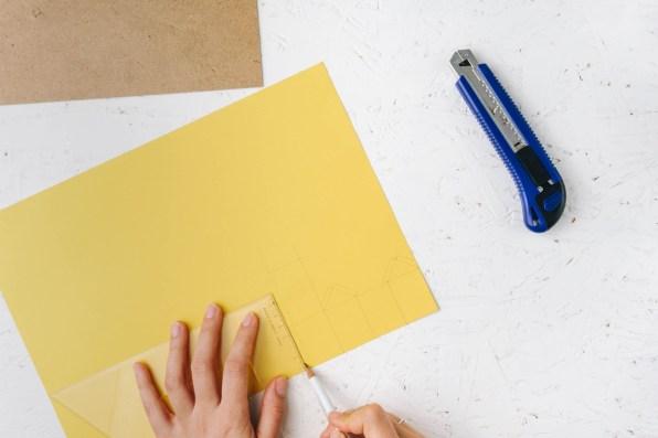 yellowgirl-DIY Advent- Weihnachtsdorf Adventskalender (2 von 5)
