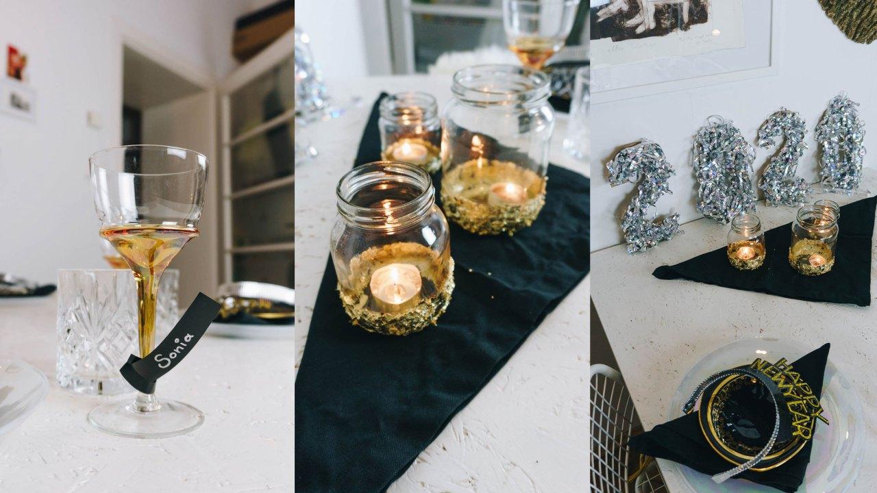DIY Silvester Dekoration 2020