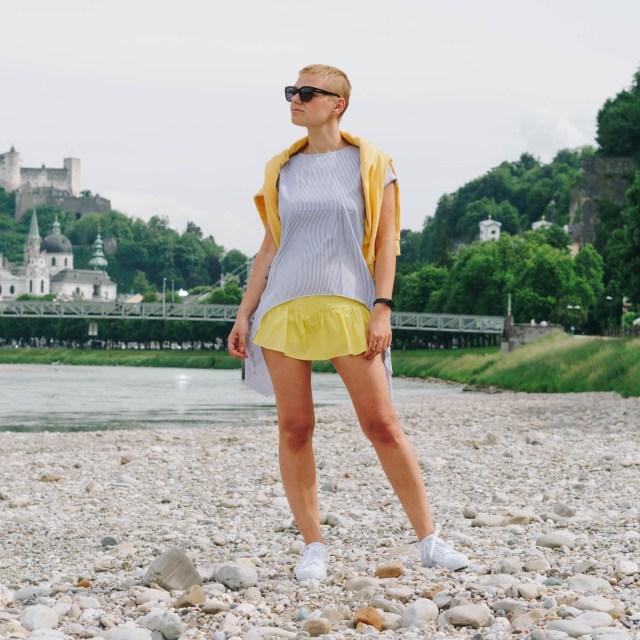 Bunte Blusen: So stylst du sie im Sommer