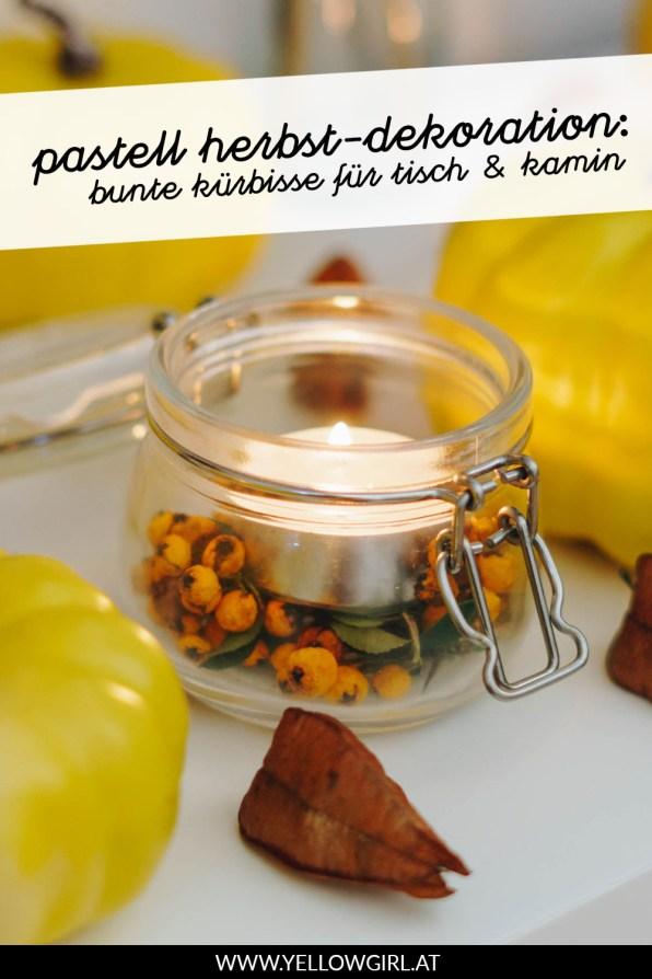 yellowgirl-Pastell-Herbst-Deko--bunte-Kürbisse-und-Trockenblumen-P3