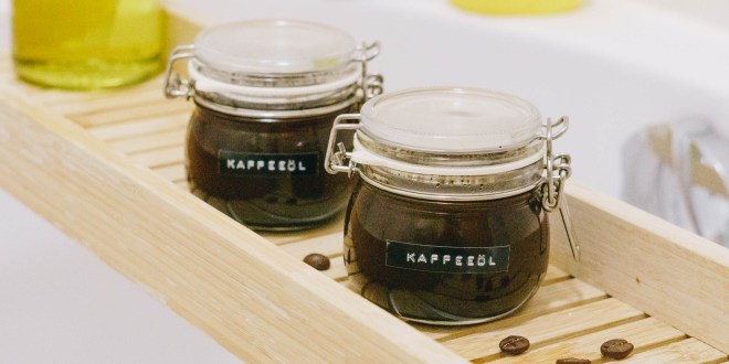 DIY Beauty: Kaffeeöl