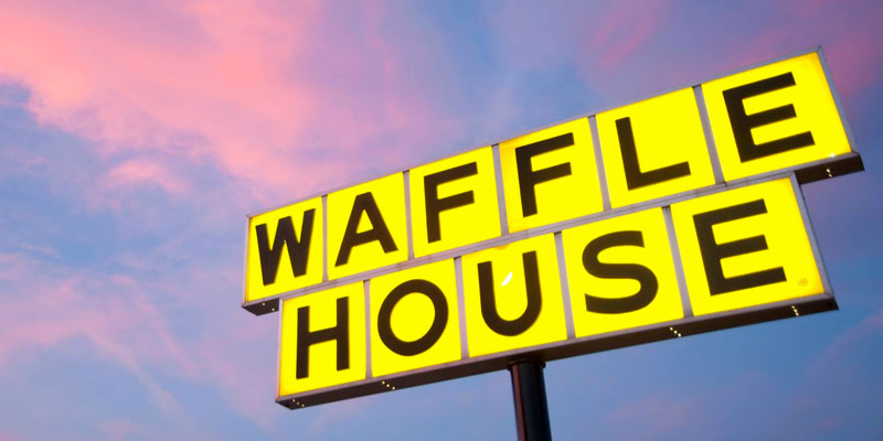 Alabama Waffle House Deserves Kudos For Their Handling Of
