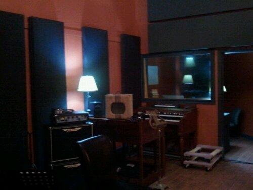 Tracking at Foxtrot Studio (2/6)