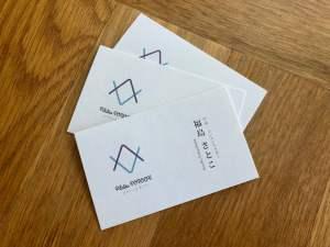 Pilates PONOAH ロゴ・名刺 のデザイン制作・印刷