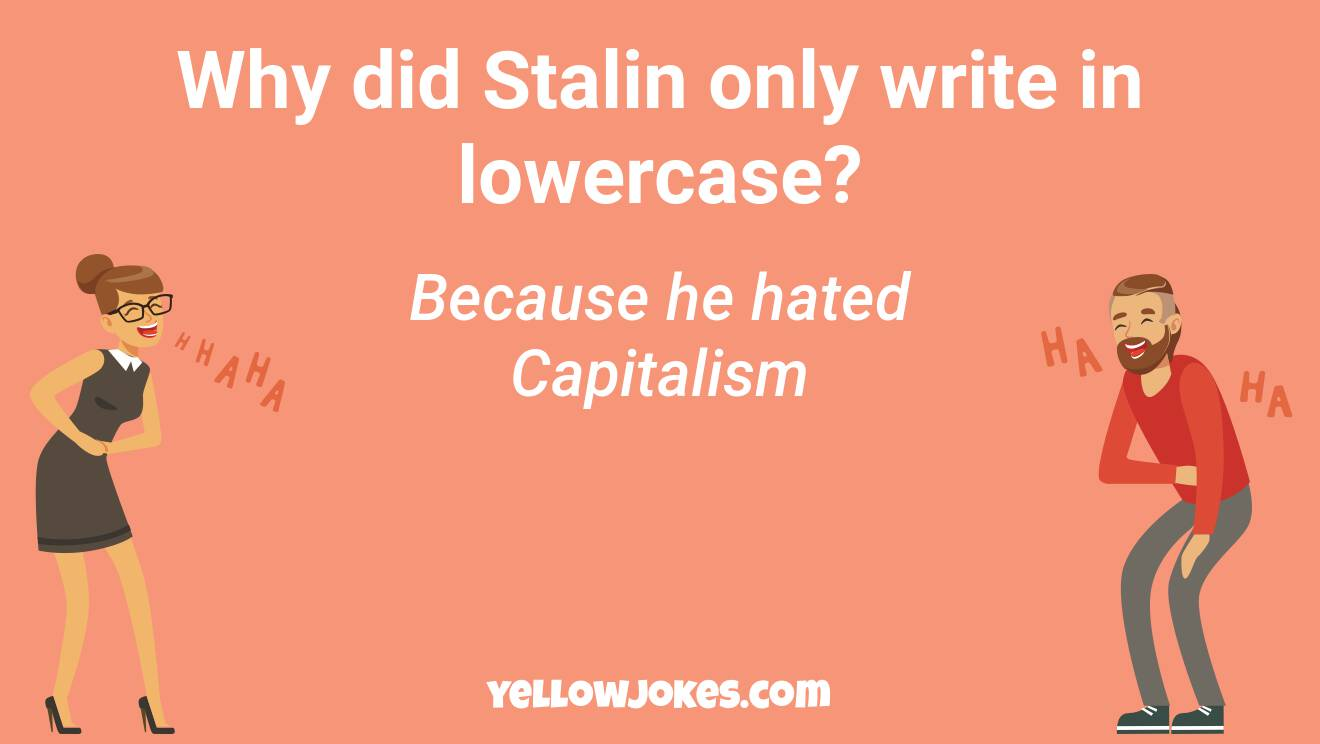 Hilarious Stalin Jokes That Will Make You Laugh