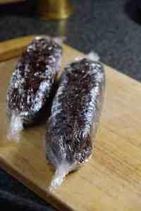 рецепт домашней шоколадной колбасы