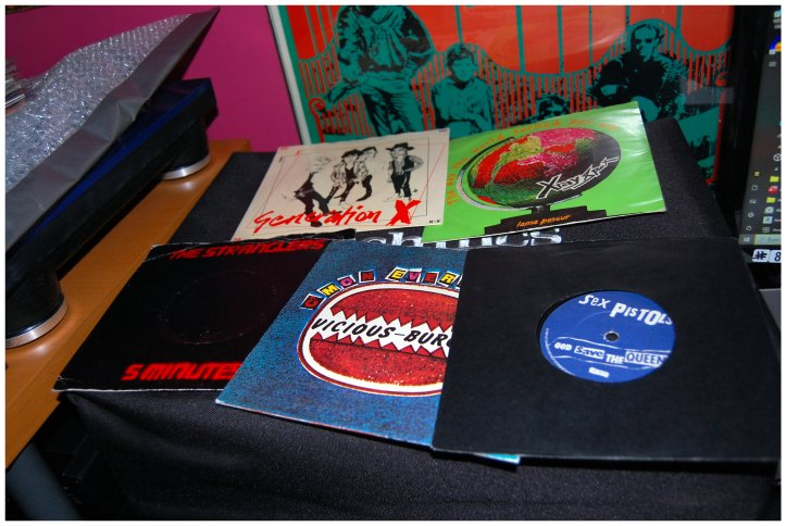 Searching for records in Chester-le-Street - 70s punk singles