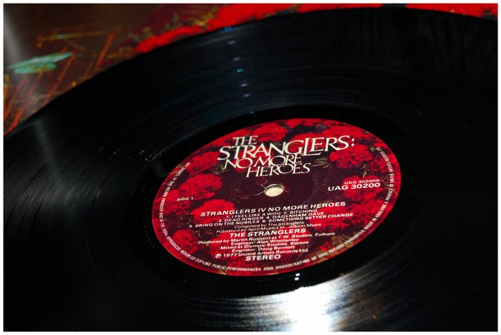 'No More Heroes' record label
