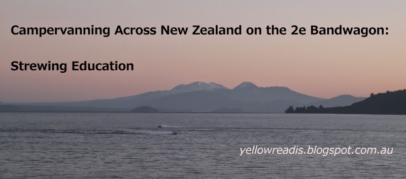 Campervanning Across NZ on the 2e Bandwagon, yellowreadis.com. Image: Lake with mountain in background