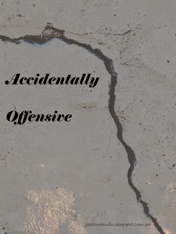 Accidentally Offensive, yellowreadis.com Image: Crack in Concrete