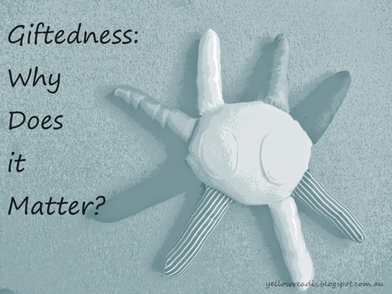 Giftedness: Why does it Matter? yellowreadis.com Image: Handmade octopus stuffed toy