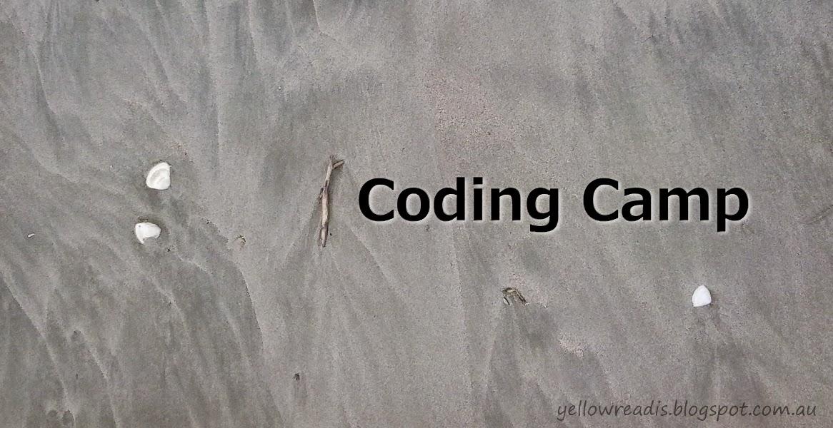 Coding Camp, yellowreadis.com Image: Black Sand
