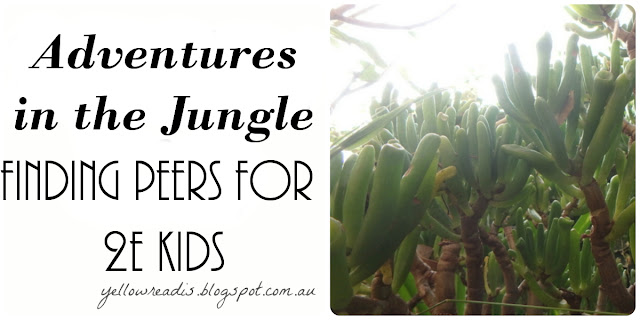Adventures in the Jungle: Finding Peers for 2e Kids, yellowreadis.com