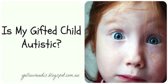 Is My Gifted Child Autistic? yellowreadis.com. Image: Staring Child