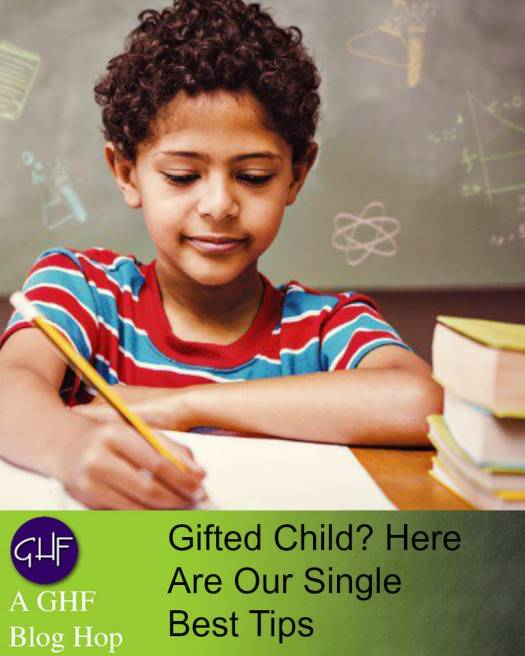 Gifted Child? Here are Our Single Best Tips Image: Boy writing with pencil on paper