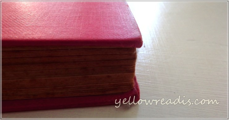 Writing and Appearances. Text: yellowreadis.com | Image: Old red book on pale wooden background