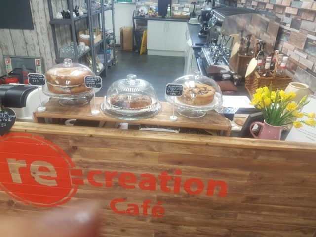 Cafe re-opening