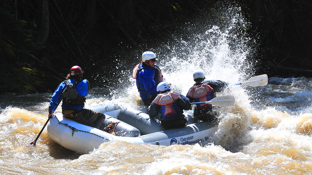 Have an intense adventure or a mellow family whitewater rafting trip.
