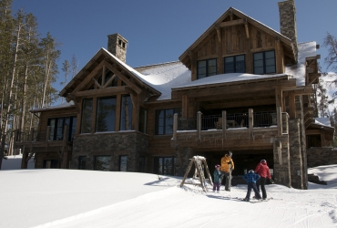 Many residences feature ski-in, ski-out access.