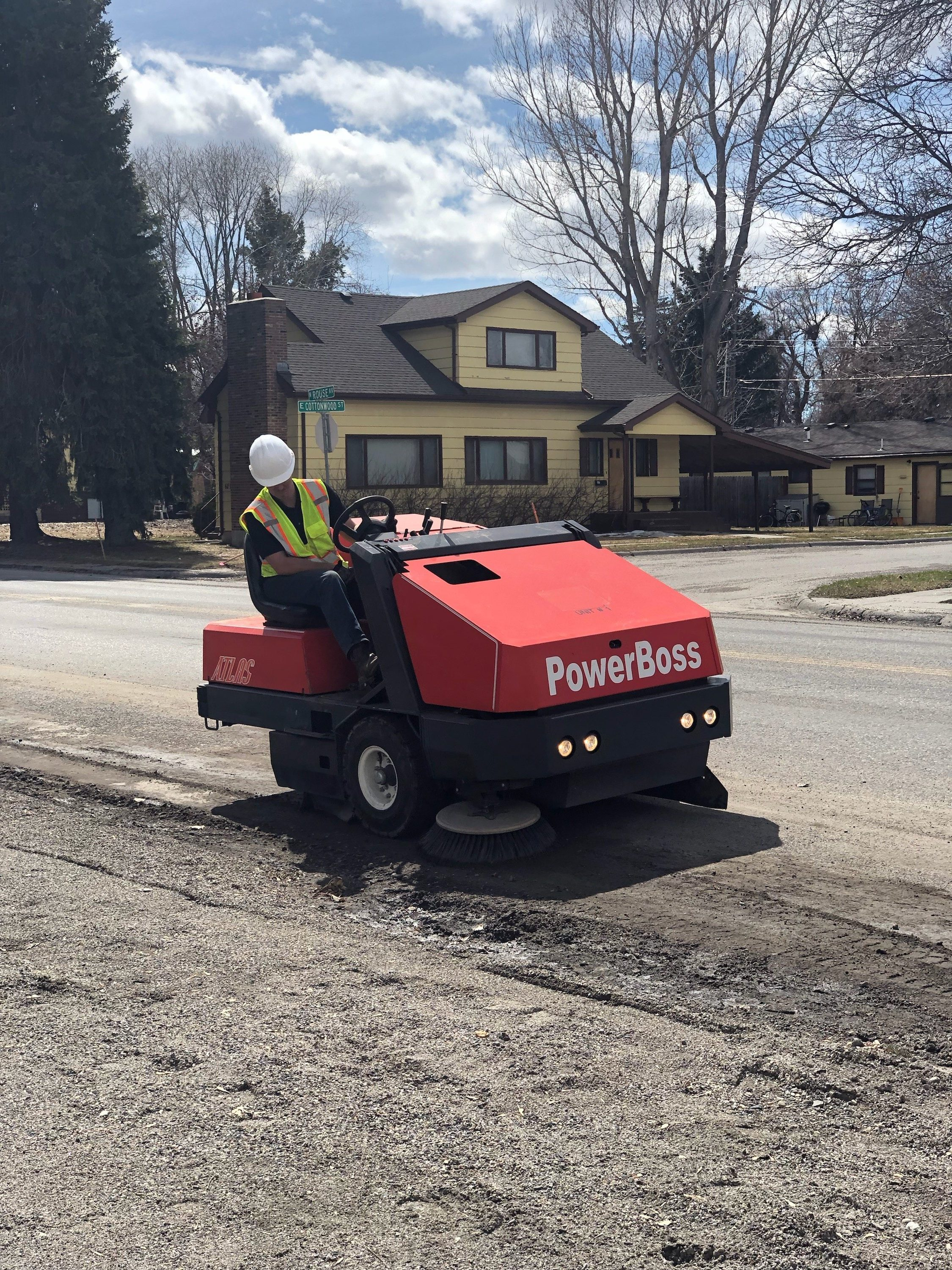 Parking Lot Sweeping, Street Sweeping and Warehouse Sweeping in Bozeman Montana