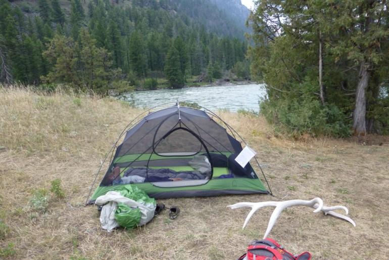 setup tent
