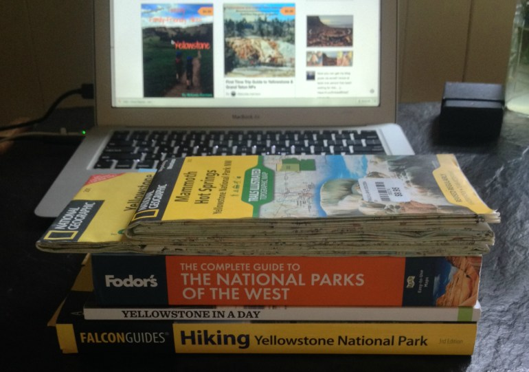 Yellowstone Guide books