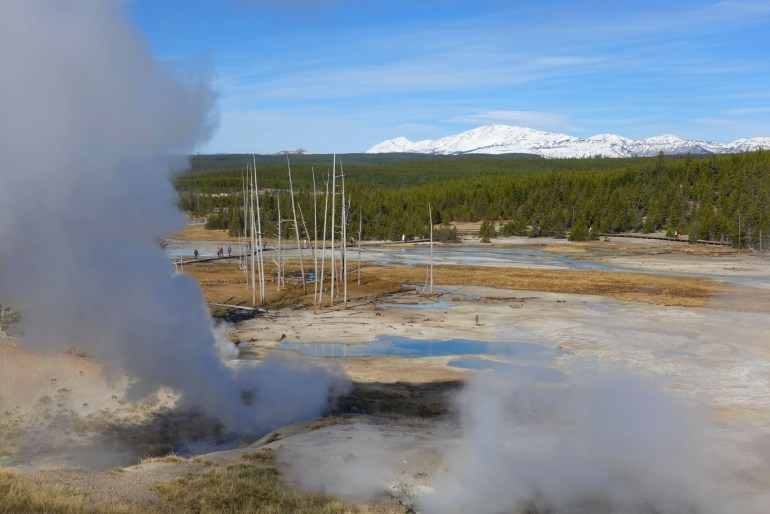 Norris Geyser Basin - things to do in Yellowstone National Park