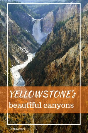 Which spectacular canyons in Yellowstone National Park need to be on your must-see Yellowstone list? I've got five of them for your Yellowstone trip planning. #Yellowstone #YellowstoneNationalPark #roadtrip | Yellowstone National Park vacations | best of Yellowstone | Yellowstone attractions