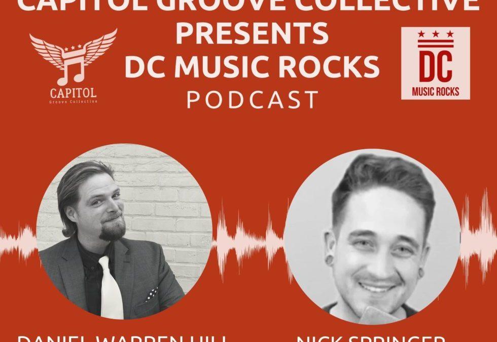 Daniel Hosts Nick Springer on CGC Presents DC Music Rocks Podcast