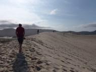 "Spectacular dunes near Florianopolis, on the Ihla de Santa Catarina or ""Floripa"""