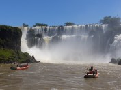 The boat trip into the Falls… shall we… shan't we… of course we will!
