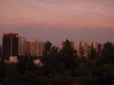 Smog does produce colourful sunsets!