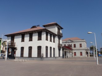 The old Customs house at Antofagasta