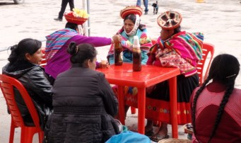 For the next few days, people gathered in the square drinking and eating